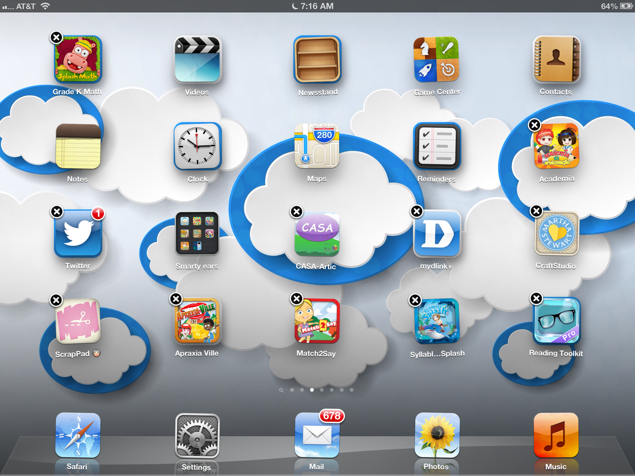 creating folder on iPad